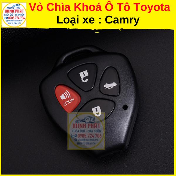 vỏ chìa khoá xe Toyota Camry 2008
