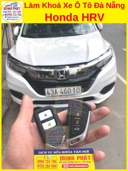 Sao Chép remote xe HRV tại đà nẵng
