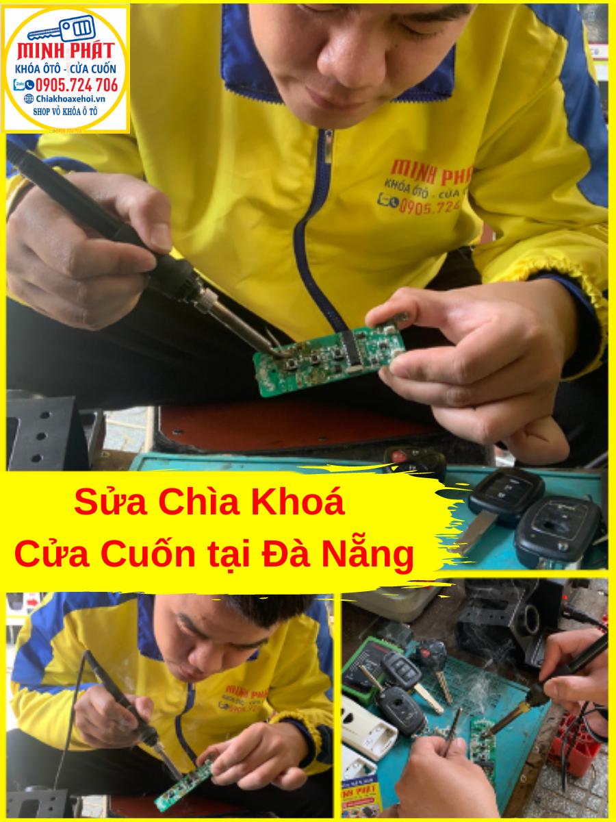 sửa remote cửa cuốn tại Đà Nẵng