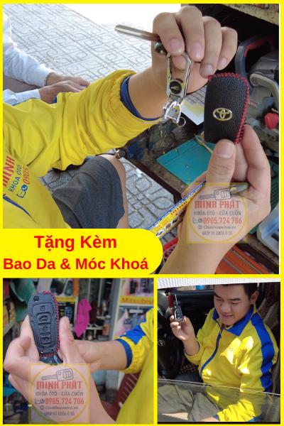 tặng bao da khi làm chìa khoá xe ô tô Đà Nẵng