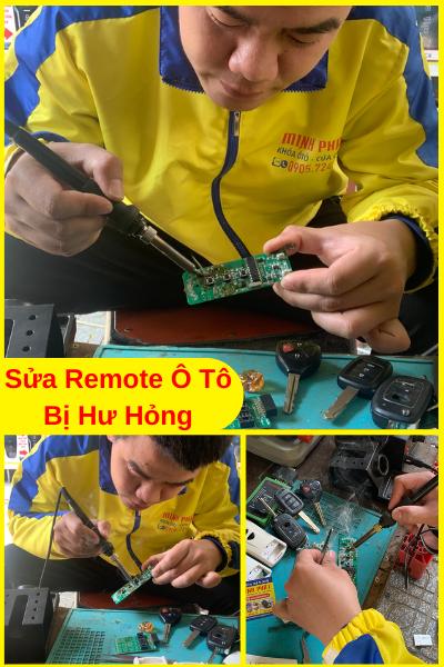 sao chép remote xe ô tô tại Đà Nẵng