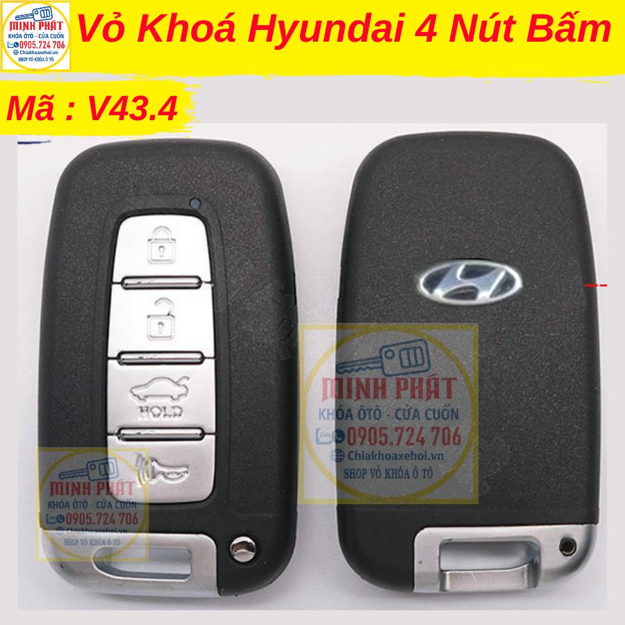 Thay vỏ chìa khoá xe Hyundai tại Đà Nẵng