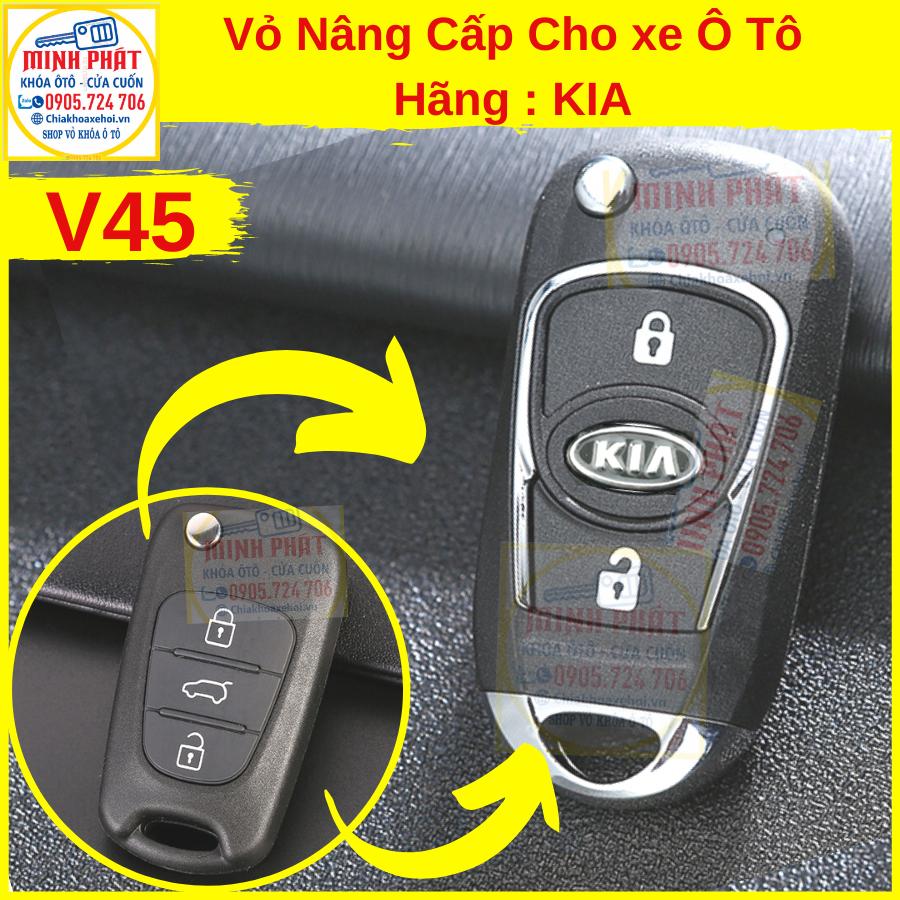 thay vỏ remote xe ô tô kia tại Đà Nẵng