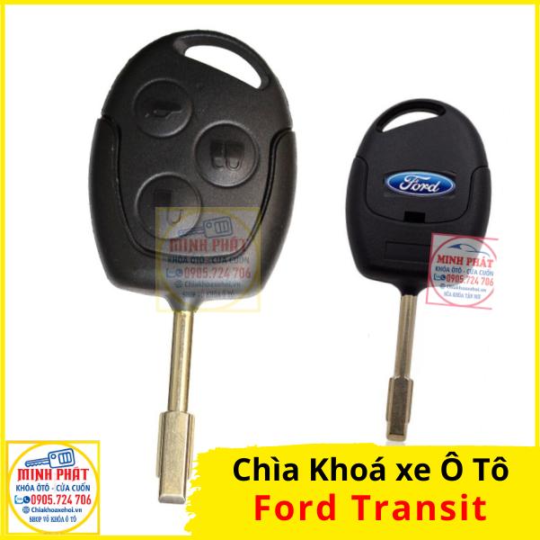 làm chìa khoá remote xe ford transit