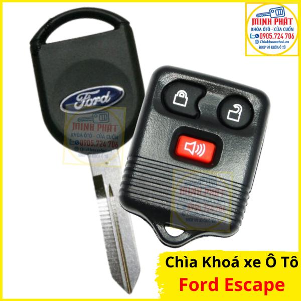 làm chìa khoá xe Ford Escape tại đà nẵng