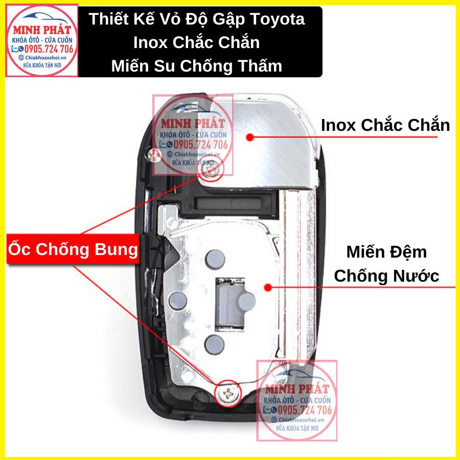Vỏ chìa khoá xe Toyota Wigo